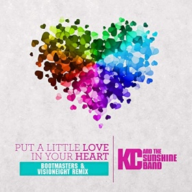 KC & THE SUNSHINE BAND - PUT A LITTLE LOVE IN YOUR HEART (REMIXES)